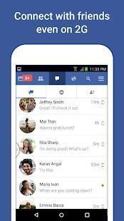 「Facebook Lite」のスクリーンショット 3枚目