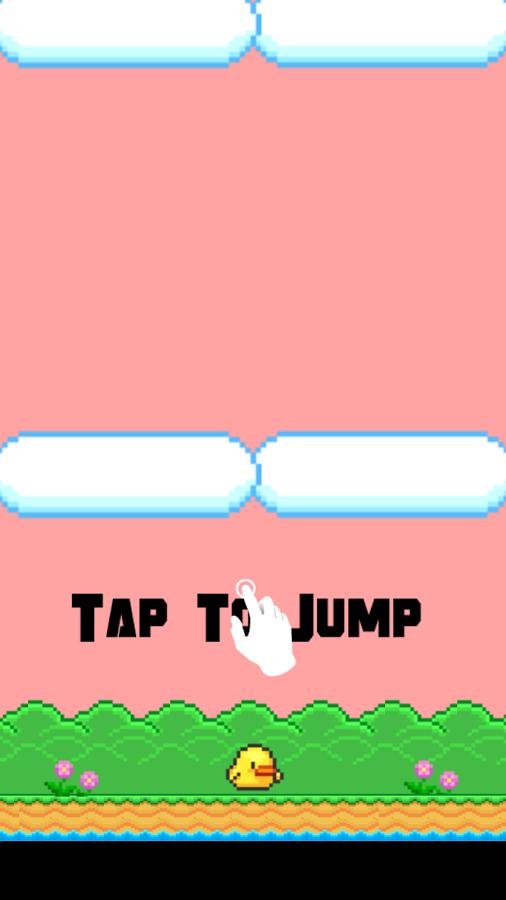 「PIPIPI JUMP:宇宙へ脱出-簡単アクションゲーム」のスクリーンショット 1枚目