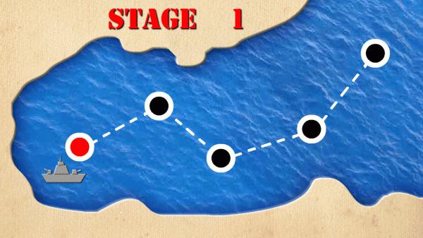 「海戦ゲーム バトルシップ」のスクリーンショット 2枚目