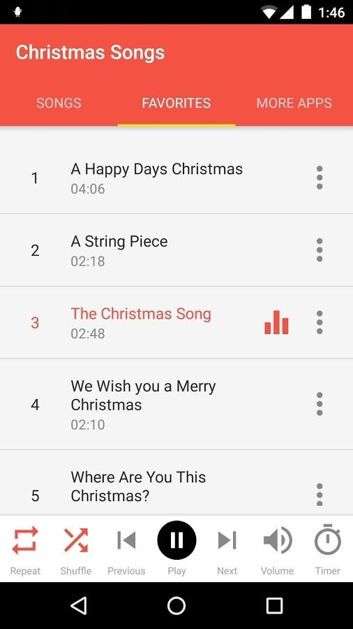 「クリスマスソング」のスクリーンショット 3枚目