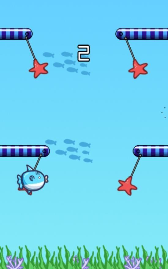 「飛べ ! マンボウ!」のスクリーンショット 3枚目
