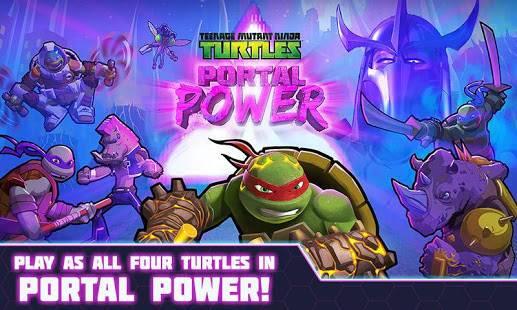 「TMNT Portal Power」のスクリーンショット 1枚目
