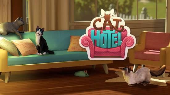 「CatHotel - オリジナルのかわいいニャンコ向けホテル」のスクリーンショット 1枚目