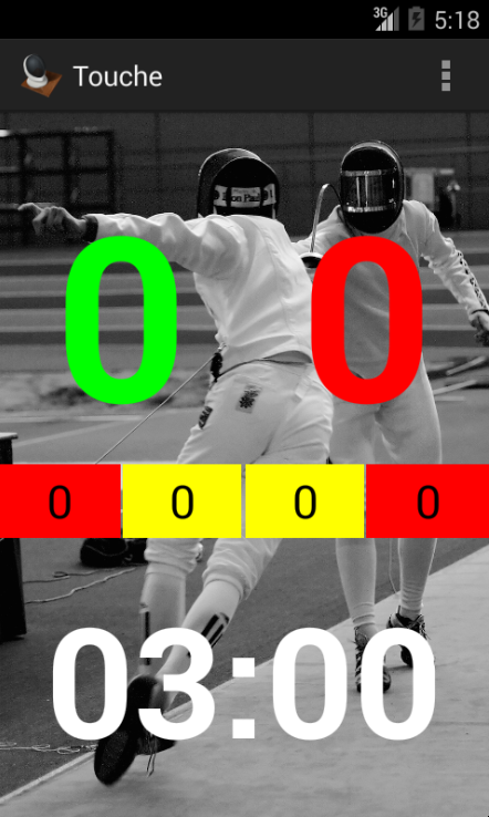 「Touche: For Fencing Referees」のスクリーンショット 1枚目