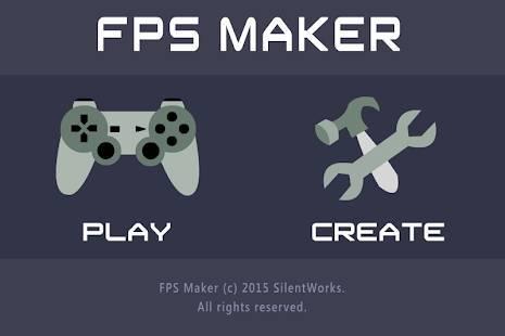「FPS Maker 3D」のスクリーンショット 1枚目