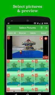 「PicPac ストップモーション&微速度撮影」のスクリーンショット 3枚目