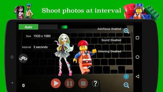「PicPac ストップモーション&微速度撮影」のスクリーンショット 1枚目