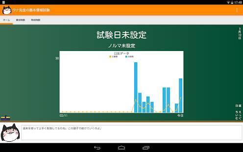 「ウナ先生の基本情報技術者試験」のスクリーンショット 1枚目