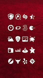 「Whicons - White Icon Pack」のスクリーンショット 2枚目