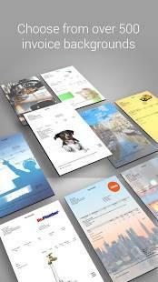 「請求書と見積書のアプリ」のスクリーンショット 1枚目