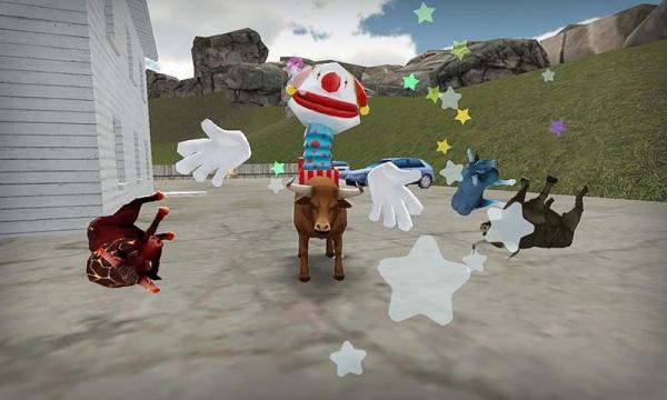 「模擬雄牛 - Bull Simulator 3D」のスクリーンショット 3枚目