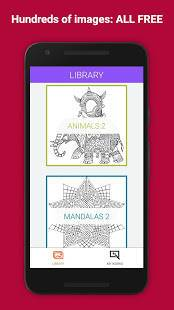 「Colorify: Free Coloring Book」のスクリーンショット 1枚目
