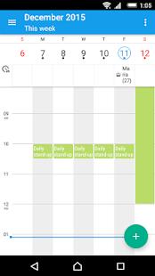 「Xperia™カレンダー」のスクリーンショット 3枚目