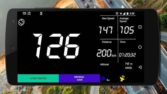 「GPSスピードメーター - トリップメーター」のスクリーンショット 2枚目