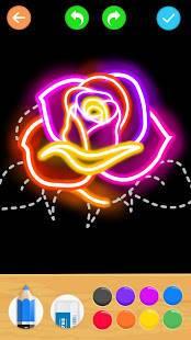 「Draw Glow Flower」のスクリーンショット 2枚目