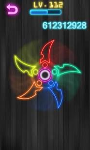 「指スピナー ハンドスピナー - Fidget Spinner」のスクリーンショット 2枚目