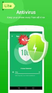 「MAX Security Lite - Antivirus, Virus Cleaner」のスクリーンショット 1枚目