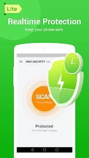 「MAX Security Lite - Antivirus, Virus Cleaner」のスクリーンショット 3枚目