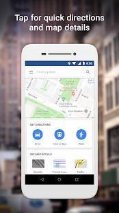 「Google Maps Go」のスクリーンショット 1枚目