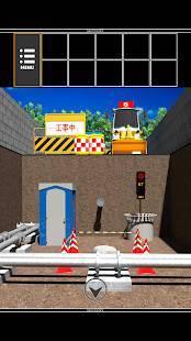 「脱出ゲーム 工事現場からの脱出」のスクリーンショット 1枚目