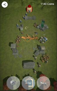 「Conquest - 中世の世界観に浸れる3Dタワーディフェンスゲーム」のスクリーンショット 1枚目
