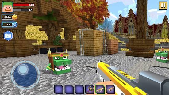 「Fire Craft: 3D Pixel World」のスクリーンショット 1枚目