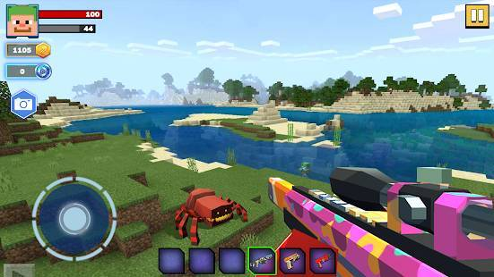 「Fire Craft: 3D Pixel World」のスクリーンショット 2枚目