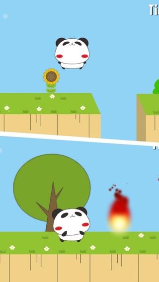 「パンダのたぷたぷ大冒険」のスクリーンショット 2枚目