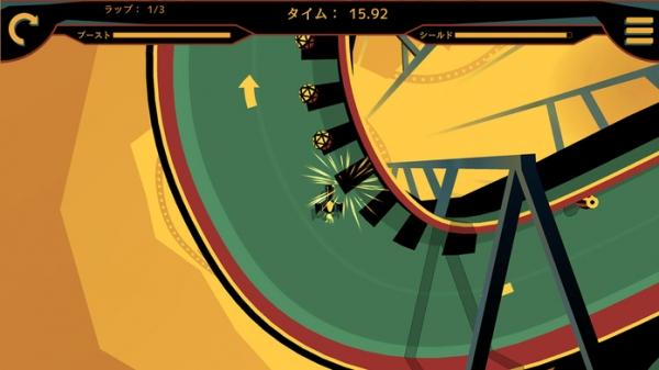 「Cava Racing ~ドリフトの限界に挑め!~」のスクリーンショット 3枚目