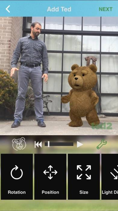 「TED 2 Mobile MovieMaker」のスクリーンショット 3枚目