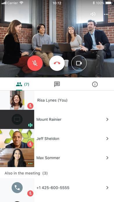 「Hangouts Meet by Google」のスクリーンショット 3枚目