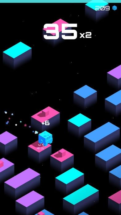 「Cube Jump」のスクリーンショット 3枚目
