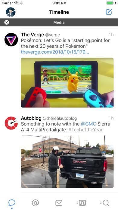 「Tweetbot 5 for Twitter」のスクリーンショット 2枚目