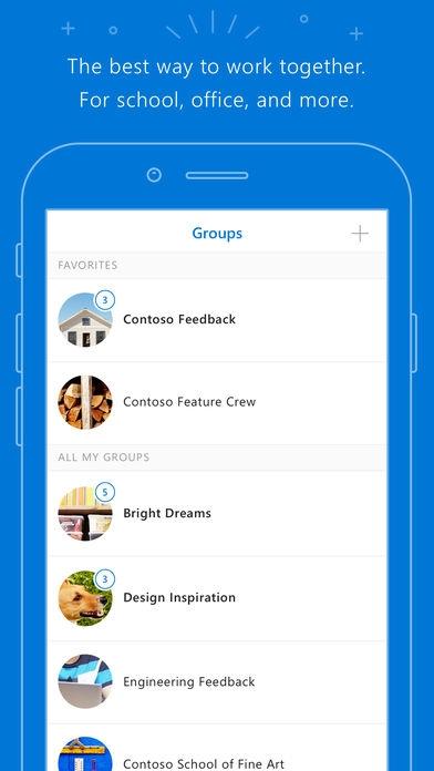 「Outlook Groups」のスクリーンショット 1枚目