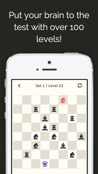 「No More Kings - Chess Puzzle」のスクリーンショット 3枚目