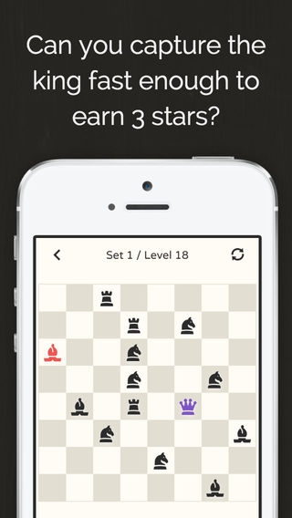 「No More Kings - Chess Puzzle」のスクリーンショット 2枚目