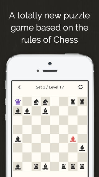 「No More Kings - Chess Puzzle」のスクリーンショット 1枚目