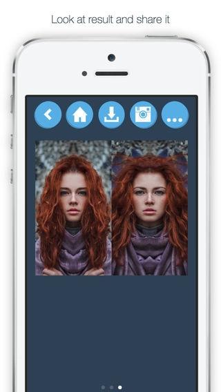「FaceSym - 顔の対称性テスト」のスクリーンショット 3枚目