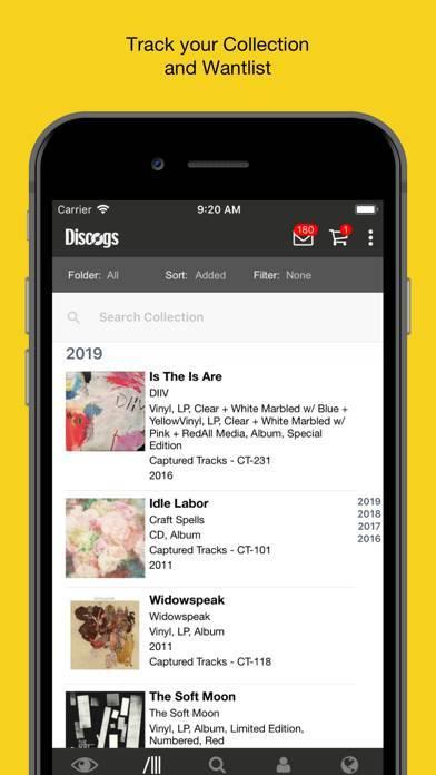 「Discogs」のスクリーンショット 2枚目