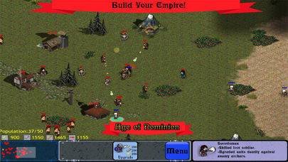 「Age of Dominion RTS: Command your Empire!」のスクリーンショット 1枚目