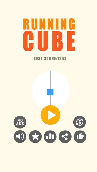 「Running Cube」のスクリーンショット 1枚目