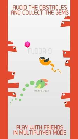 「Bird Climb」のスクリーンショット 2枚目