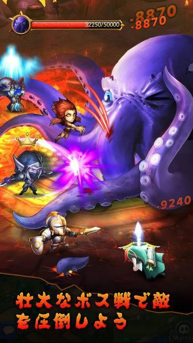 「魔法の紋章(Heroes Tactics):PvP戦略ゲーム」のスクリーンショット 2枚目