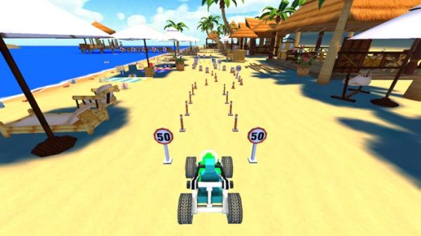 「Crazy Beach Car Parking」のスクリーンショット 3枚目