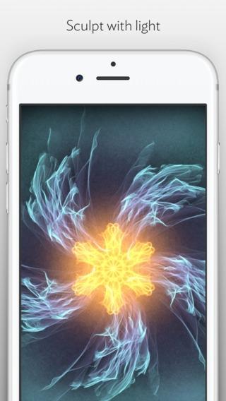 「Silk 2 – Interactive Generative Art」のスクリーンショット 2枚目