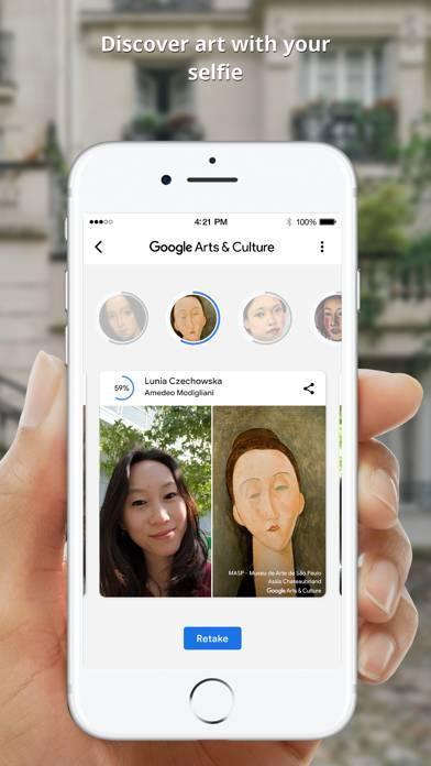 「Google Arts & Culture」のスクリーンショット 3枚目