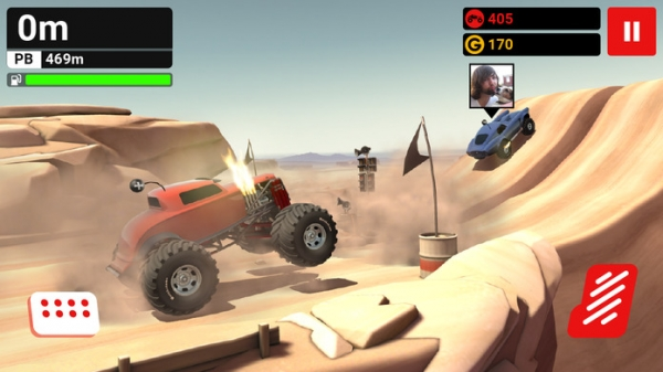 「MMX Hill Climb — Off-Road Racing With Friends」のスクリーンショット 1枚目
