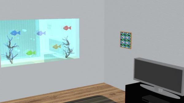 「脱出ゲーム-Fish room-」のスクリーンショット 1枚目