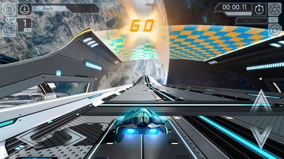 「Cosmic Challenge: Best online space racing game」のスクリーンショット 1枚目