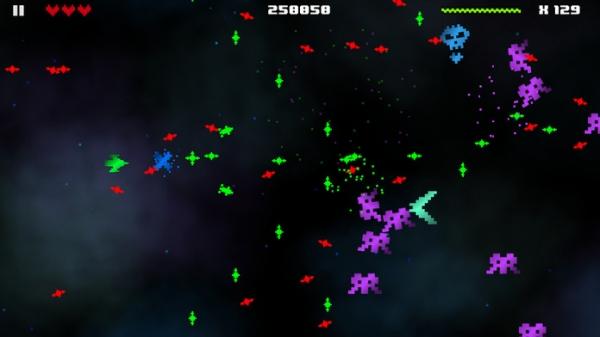 「Hectic Space 2」のスクリーンショット 2枚目